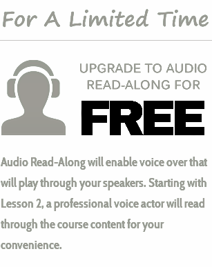 For a limited time: Upgrade to Audio-Read Along for FREE